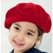 Boina Infantil Vermelha