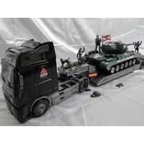 Kit Comando Blindado Caminhão Tanque Guerra  Tatico Exercito