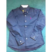 Lote 10 Camisas Sociais Infantis Tommy Hlfiger Estampas
