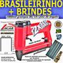 Grampeador Pneumático (tapeceiro) Pacar Brasileirinho 80/16