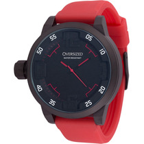 Relógio Esportivo Oversized Spartan 49mm (dark+red Band)