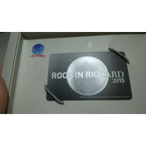 Rock In Rio Card 2015 - Dia 24/09 System Of A Down