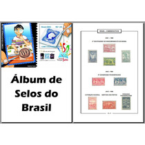 Álbum Selos Comemorativos Do Brasil 1900-1960 (pdf) Vol. 1