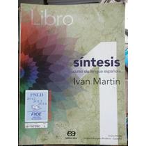 Livro: Espanhol 1 & 2 - Sintesis.