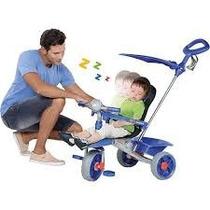 Triciclo Smart Comfort Azul - Bandeirantes 256