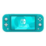 Nintendo Switch Lite 32gb Azul-turquesa