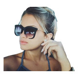 Óculos De Sol Feminino Clássico Rasoir Grande Barato Uv400