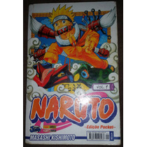 Mangá Naruto Nº 1 Pocket - Masashi Kishimoto Panini Comics