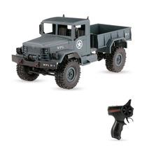 Caminhão Militar Wpl B-1 1/16 2.4ghz 4wd Off-road