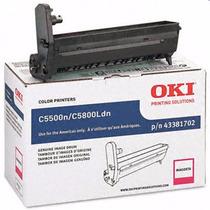 43381702 Magenta Cilindro Oki Original C5500n C5800ldn