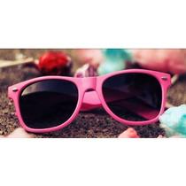 Óculos De Sol Infantil Estilo Wayfarer Colorido Proteção Uv