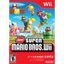 New Super Mario Bros Wii Mídia Física Lacrado