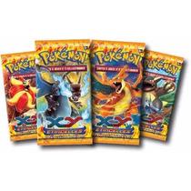 Card Pokemon Caixa Com 24 Booster Flash De Fogo