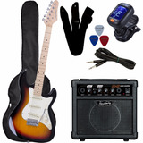 Kit Guitarra Strinberg Egs216 / Sts100 Cubo Sg15 +acessorios