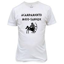 Camiseta Acampamento Meio-sangue Percy Jackson