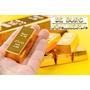 Barra De Ouro 18k 750  1g Confecção Joias Certificado - Novo