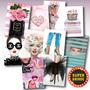 Kit 10 Quadros Placas Decorativas Moda Fashion Make + Brinde Original