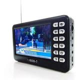 Mini Tv Digital Mobile Com Fm Tela De 4.3 Polegadas
