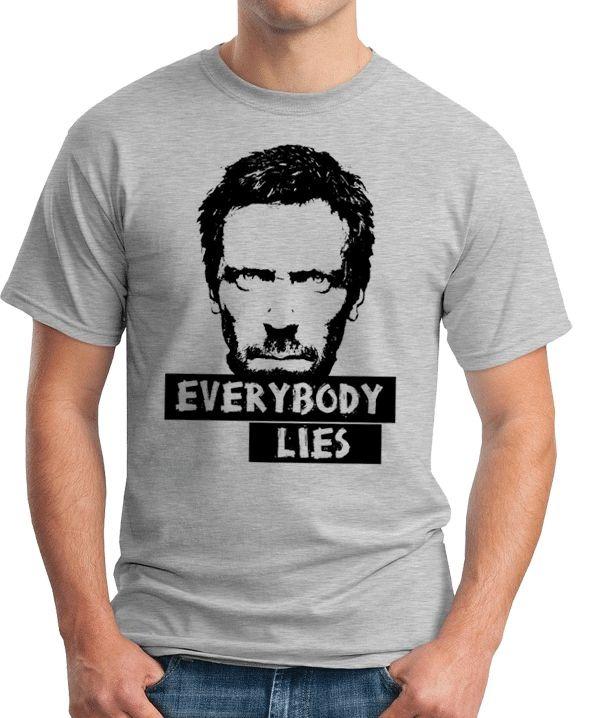 Camiseta Everybody Lies Seriado House