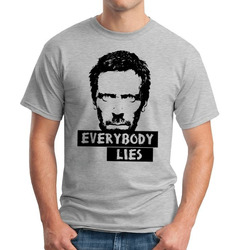 Camiseta Everybody Lies Seriado House