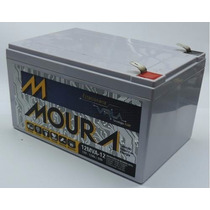 Bateria Moura 12v 12ah Vrla Estacionária P Nobreak Sist Elet