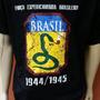 Camiseta Feb Força Expedicionária Brasileira - Cinco Cores