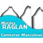 Moldes Raglan Profissionais - Camisetas Masculinas