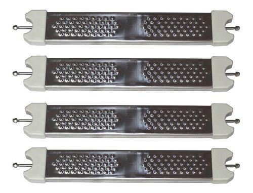 Kit 04 Degraus Para Escadas De Piscinas - Aço Inox 304