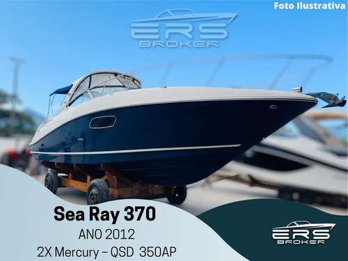 SEA RAY 370 IMPORTADA, 2012, 2X MERCURY QSD 350 AP