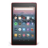 Tablet Amazon Fire Hd 10 Kfsuwi 10.1  32gb Punch Vermelho Com Memória Ram 2gb