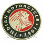 Mot251 Indian Moto Tag Patch Bordado 20 Cm P/ Jaqueta Colete