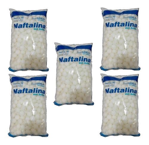 Naftalina Bolas 5 Kg Sanilar - Máx. 15 Kg Por Compra Oferta