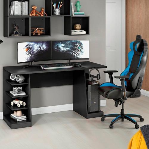 Mesa Para Computador / Gamer Xp Preto All Black Nt2020