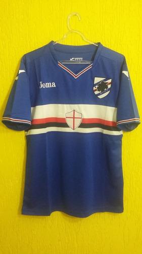 Camisa Sampdoria 2016 2017 - Itália - Tamanho P 5ec58e7529aab