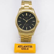 a68e18c3898 Busca Relógio Atlantis dourado com os melhores preços do Brasil ...