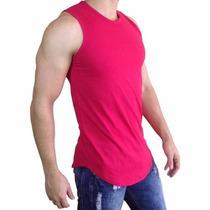 e7a481d3fc Kit C 4 Camiseta Regata Oversized Swag Longline Rosemary à venda em ...