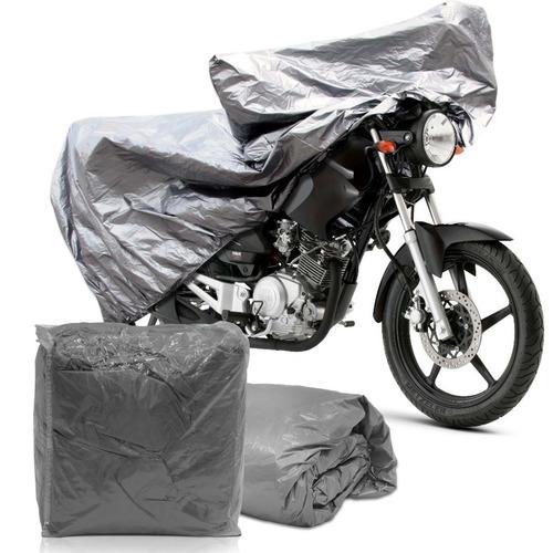 Capa De Cobrir Moto Impermeavel Tamanhos P M G Resistente