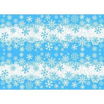 Tnt Estampado 50 Mts Frozen Neve Frete Gratis