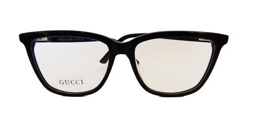 Armação Óculos Grau Gucci Masculino Feminino Preto Quadrado 9e5bac4101