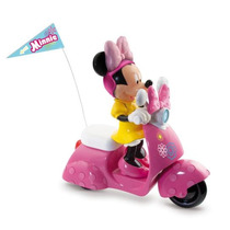 Minnie Scooter De Controle Remoto - Minnie - Long Jump