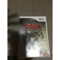 Zelda Twilight Princess Nintendo Wii Original Usado Na Caixa