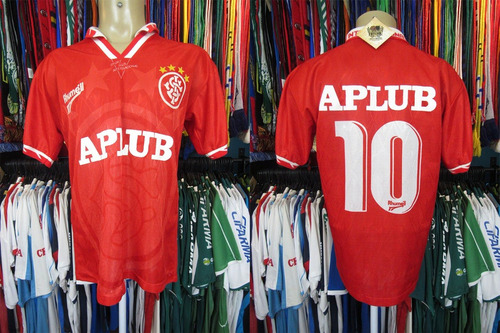 Internacional 1996 Camisa Titular Tamanho G Número 10 (d) 35e44a7b05c77