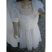 Vestido Daminha Casamento Comunhão