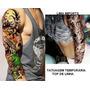 Tatuagem Temporaria Kit 02 Peças Tattoo 3d Perfeita
