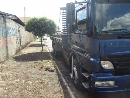 MERCEDES BENS ATEGO 2425 TRUCK CARROCERIA  REPASSO DIVIDA