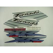 Kit Adesivos Tornado 2003 Azul, Frete Grátis !