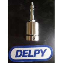 Prolongador Aço Inox 304 Maciço Vidro Guarda Corpo (botton)