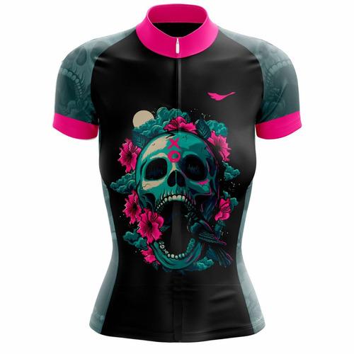 b6fc558ae Camiseta Ciclismo Feminina Trevosa C  Proteção Uv - Scape