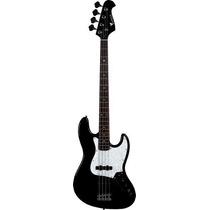 Ritmus ! Eagle Sjb005 Contra Baixo 4 Cordas Jazz Bass Preto