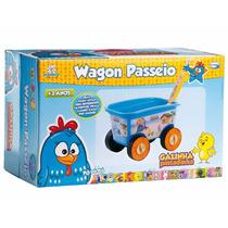 Wagon Passeio Galinha Pintadinha Multibrink 1700